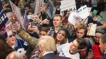 Here's Why a Surprising Number of Millennials Are Supporting Donald Trump